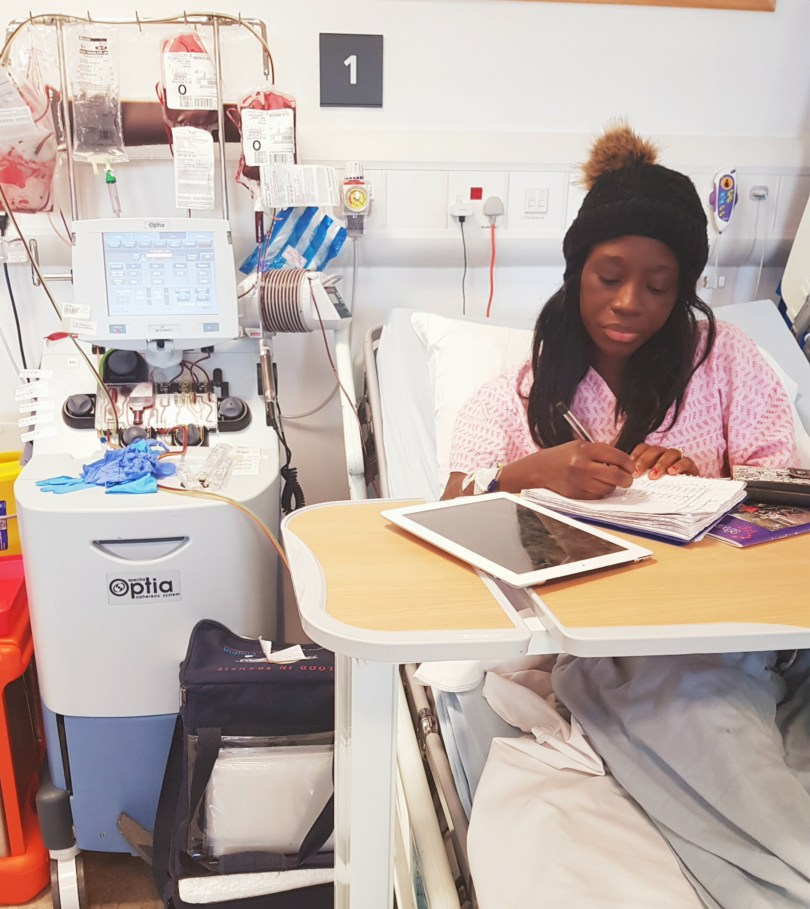 Undergoing treatment for Sickle Cell