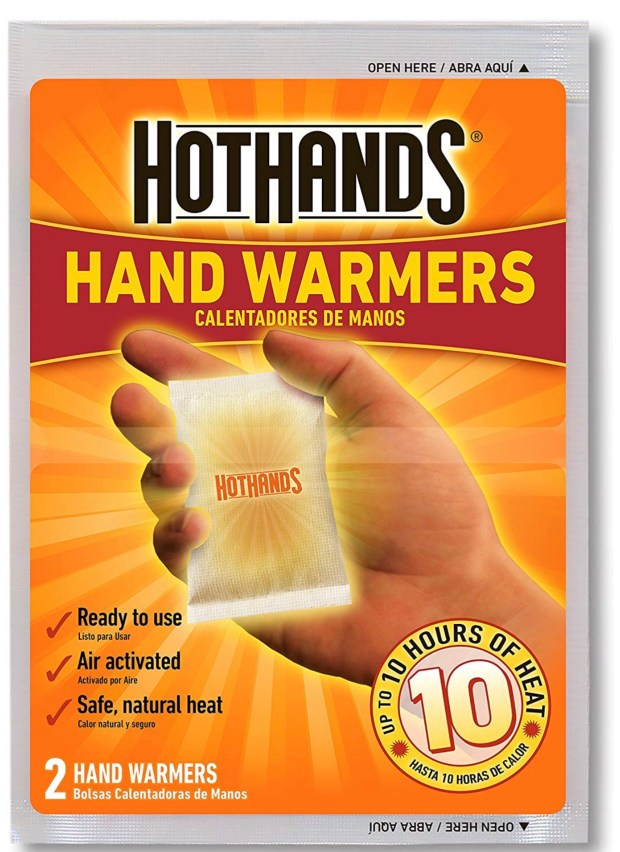 My handwarmers for running in the winter