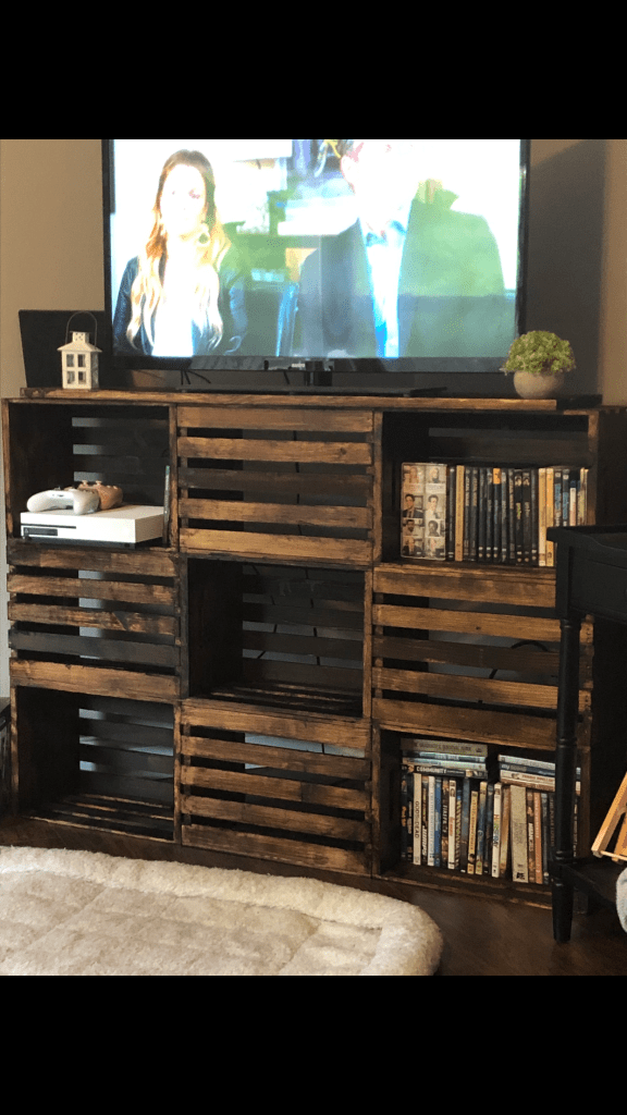 Finished TV stand