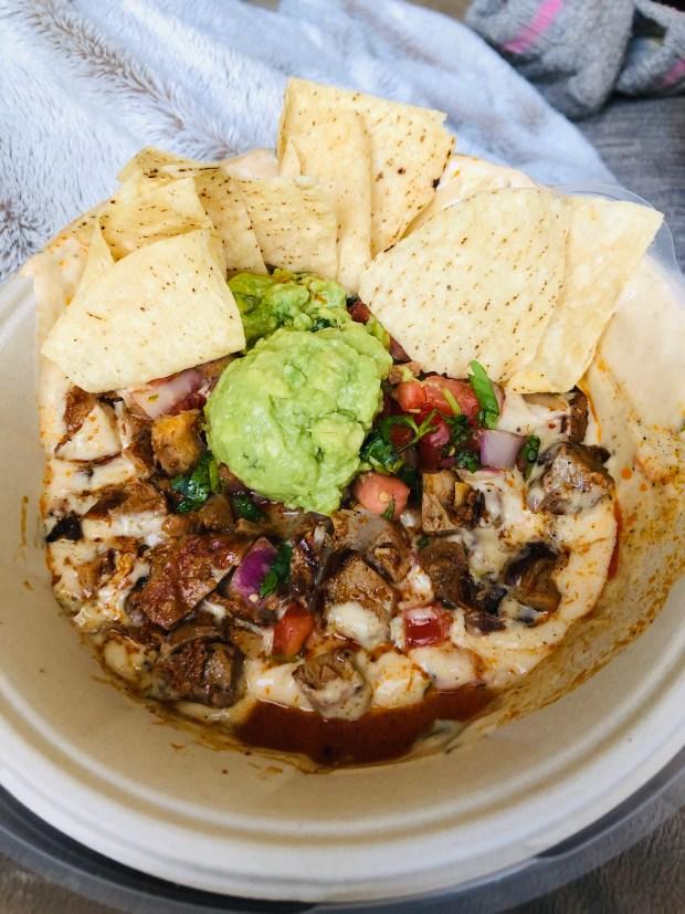Qdoba nacho bowl
