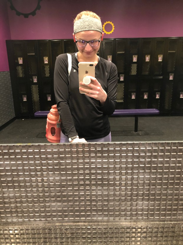 Planet Fitness locker room