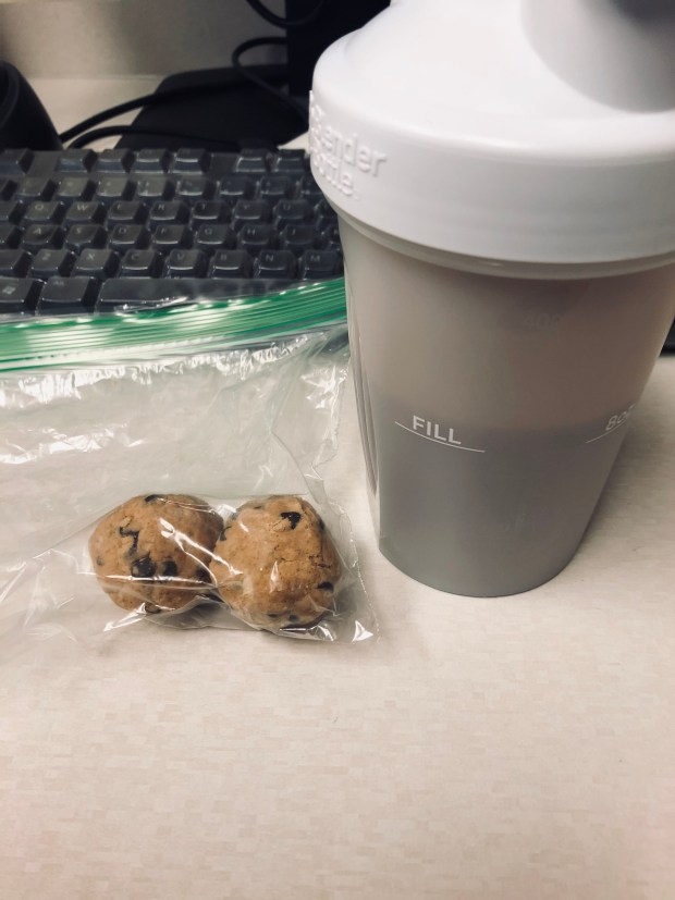 Protein shake and protein balls