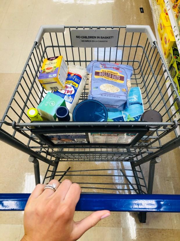 Kroger shopping cart