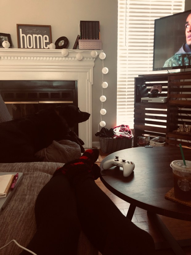 Chance watching TV
