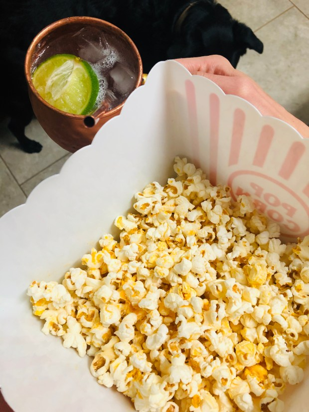 Popcorn and Moscow Mules