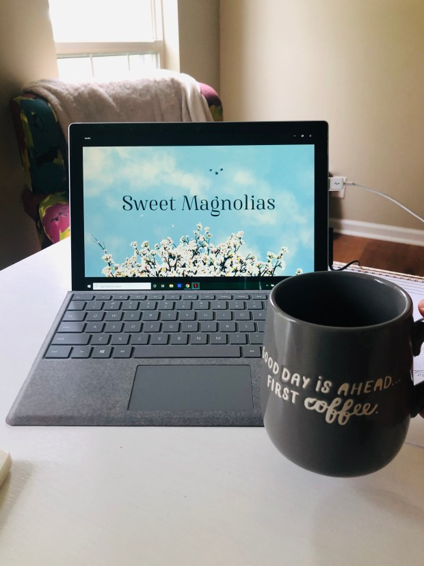 Coffee and Sweet Magnolias