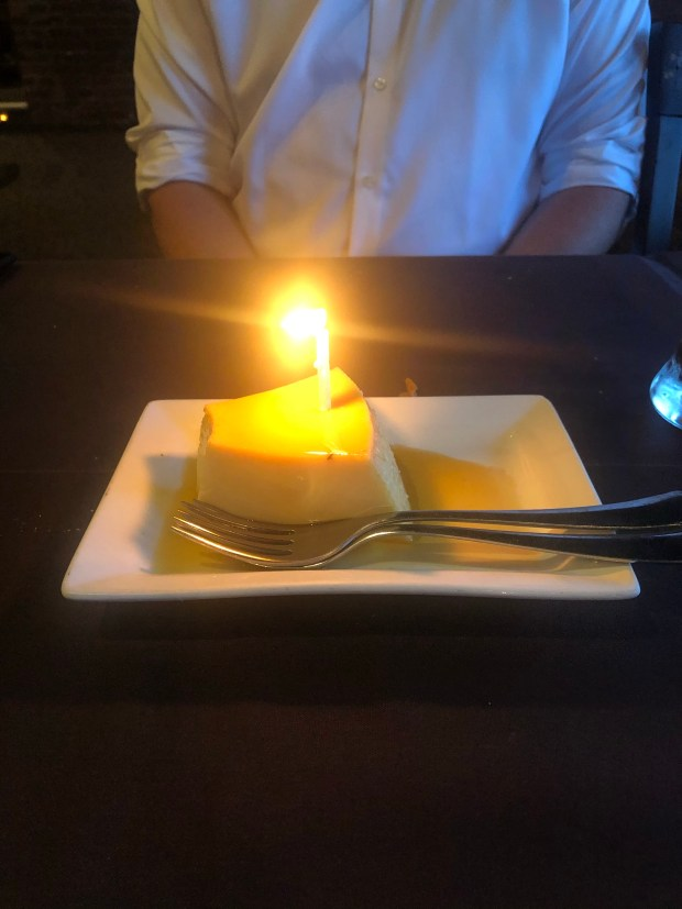 Flan for anniversary