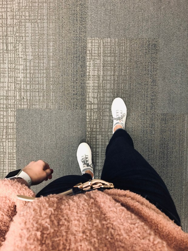 Getting in steps at work