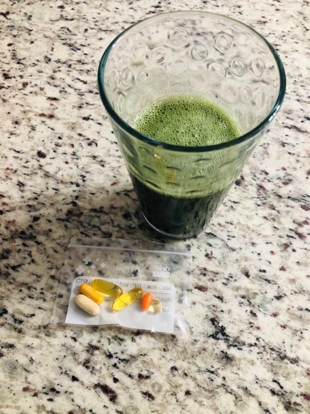 Greens and vitamins