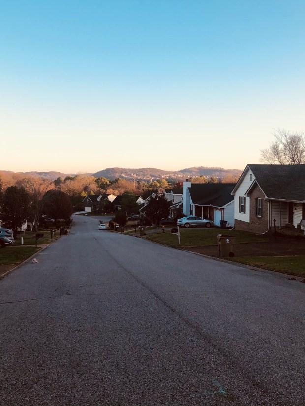 Early morning walking views
