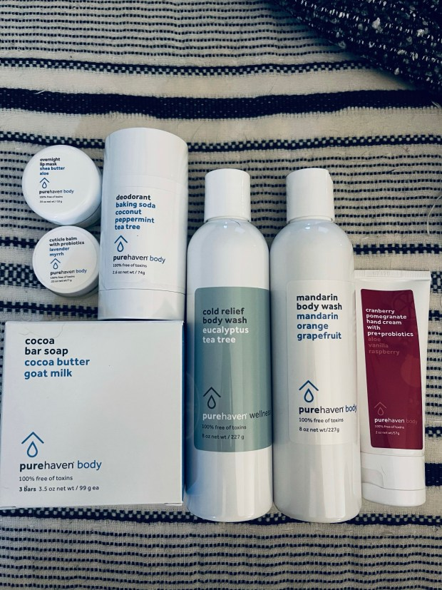 Pure Haven non toxic product haul