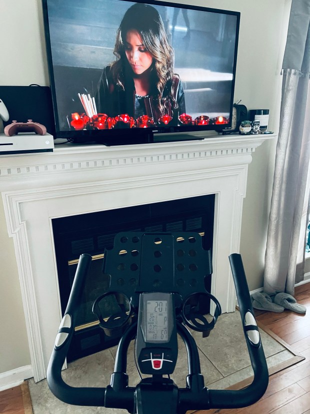 At home spin bike