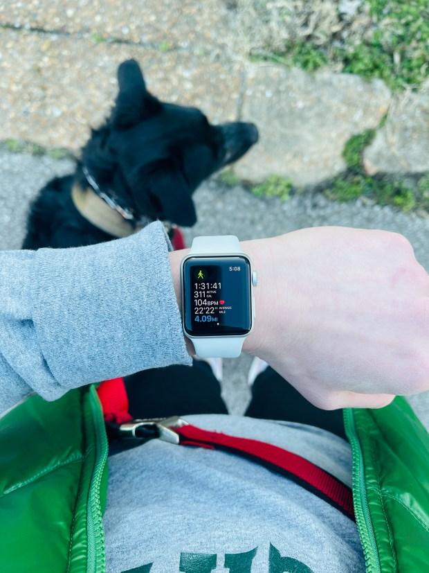 4 mile walk watch statistics