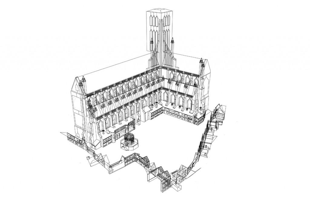 Week 1: Reverse Engineered Virtual Paul's Cross