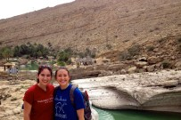 Kirby and I at Wadi Bani Khalid