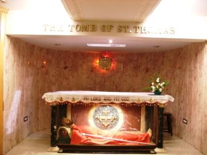 2, Chennai, Catedrala Sf Ap Toma, mormantul