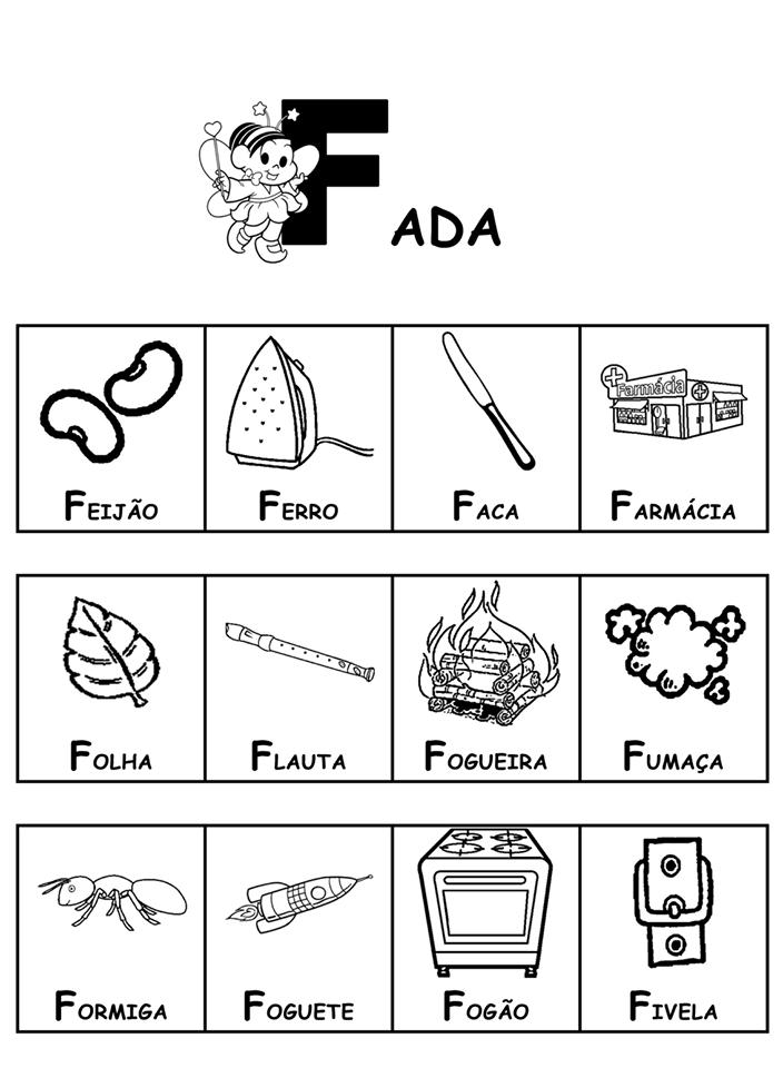 Dicionário da Turma da Mônica-Parte 2 - F