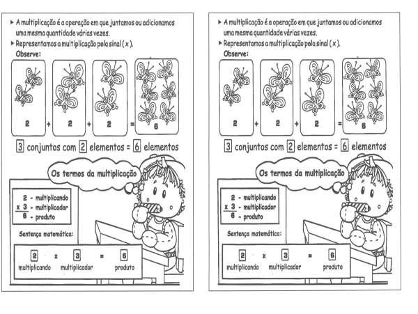 Atividade de Matemática-Multiplicação e termos-Folha 1
