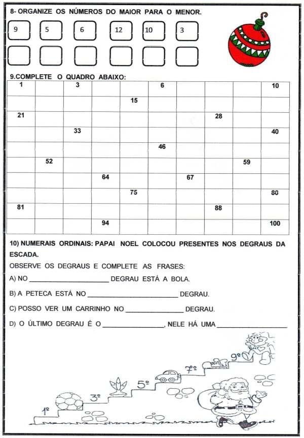 Avaliação Matemática-Natal-3 Trimestre-2-Folha 3