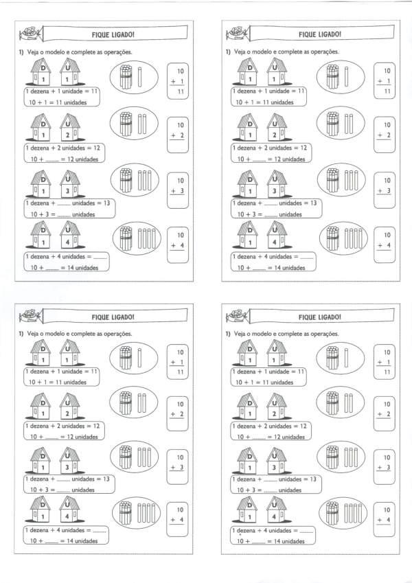 Sistema Decimal-Dezena e Unidade