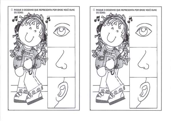 Educação Infantil-Órgãos dos sentidos-Audição