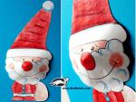 Papai Noel para Colorir e Montar 2