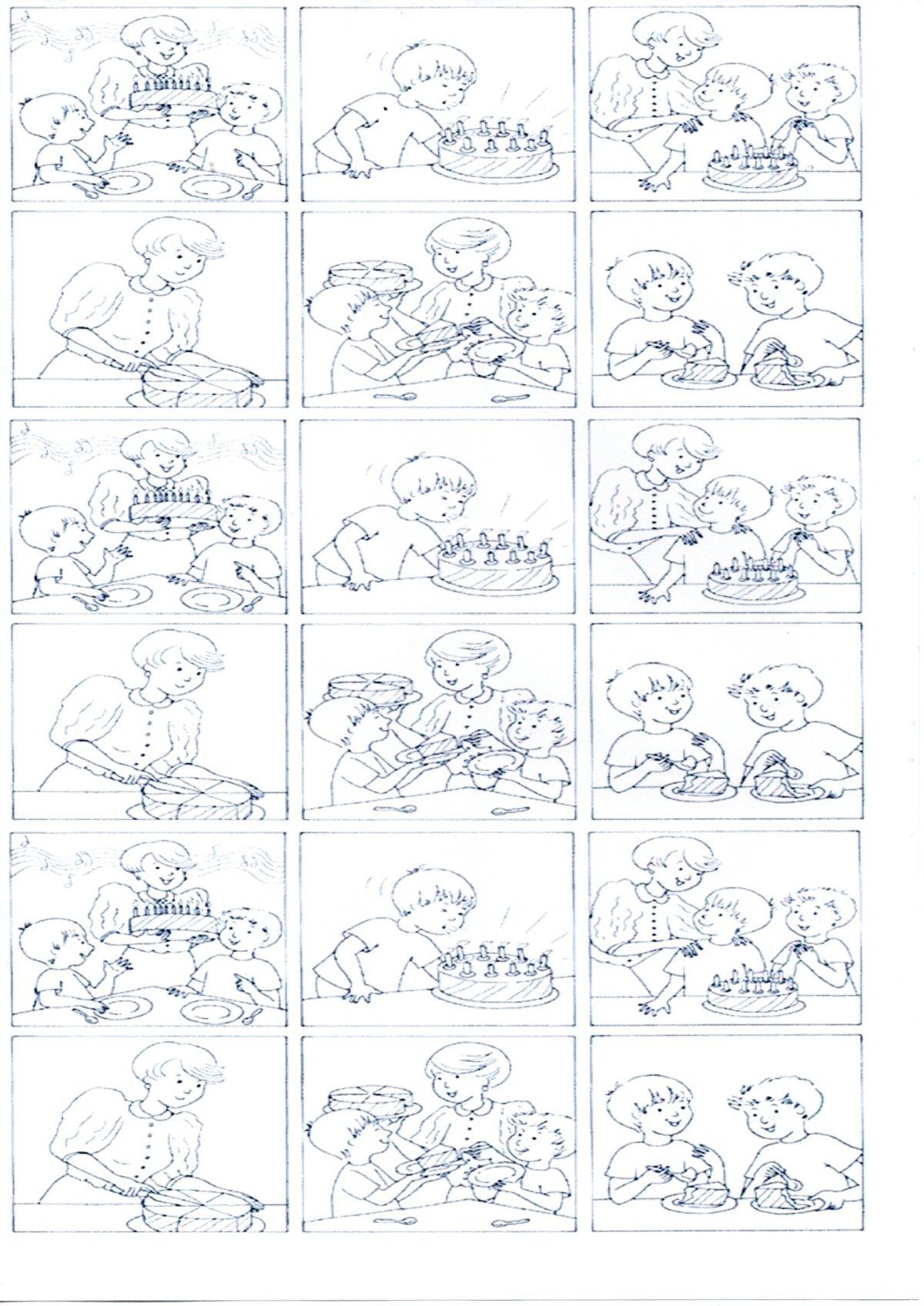 Quadrinhos em sequência para trabalhar Produção de texto