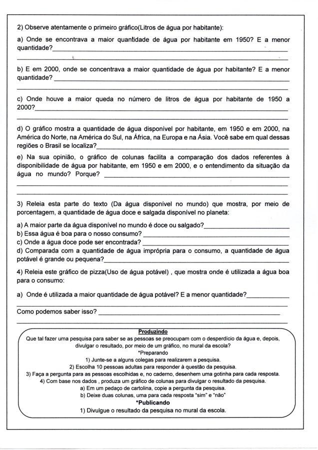 Água-Infográfico para interpretação-Folha 2