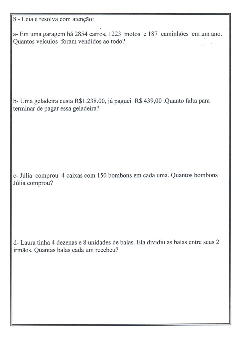 Numerais-Valor Tabela Relógio-Parte 3-Folha 4