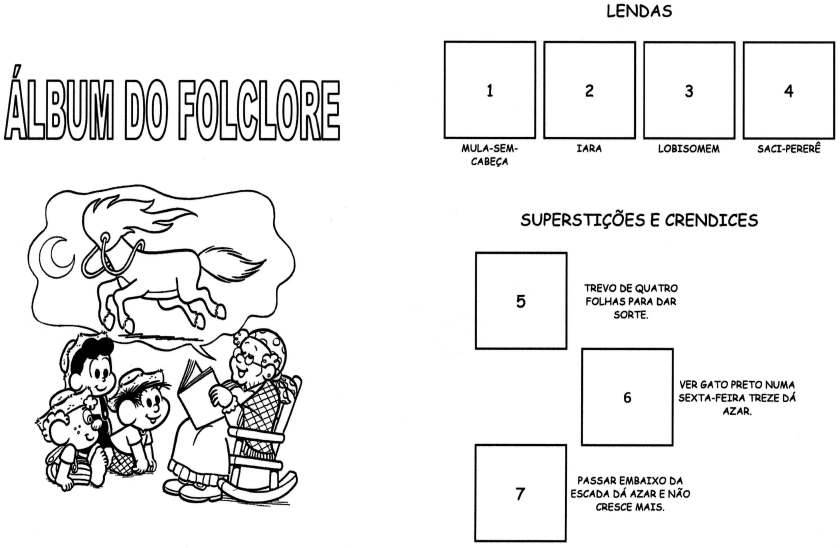 Álbum do Folclore-Lendas e Superstições-Folha 1