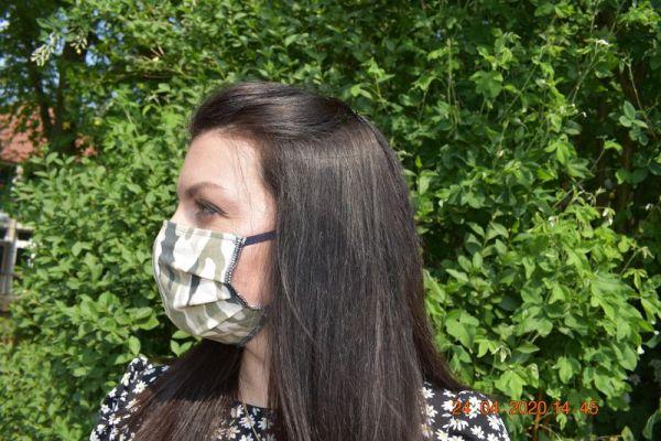 Mundschutz Schutzmaske Camouflage militär Tarnung