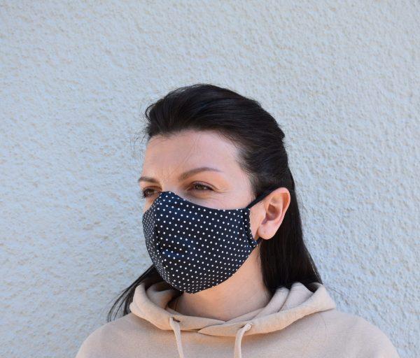 Schutzmaske Gesichtsmaske Behelfs Maske