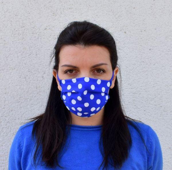 Schutzmaske Behelfsmaske Baumwolle Silverplus