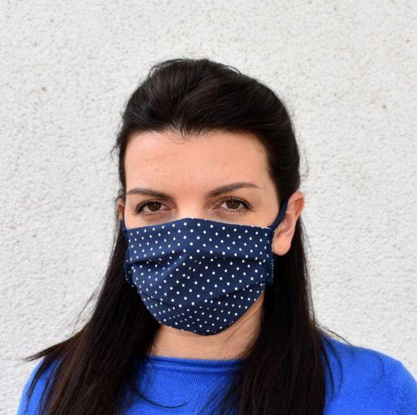 antibakterielle Schutzmaske Mundschutz Behelfsmaske Silverplus