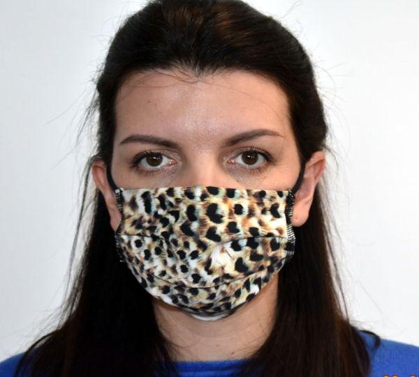 """antibakterielle """"Silverplus"""" Mundschutz Maske Baumwolle"""