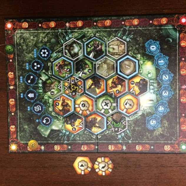 A Neuroshima Hex puzzle: last turn, can yellow tie or win?