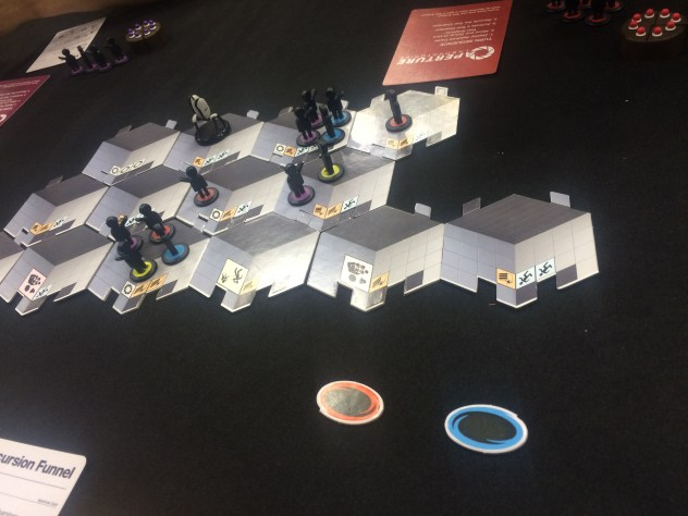 Portal board game, from Cryptozoic