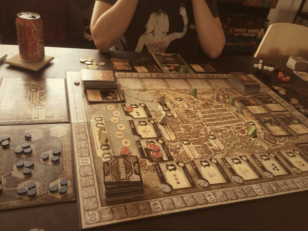 Lords of Waterdeep + Scoundrels of Skullport