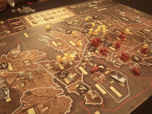 End of game. Baratheon rode from King's Landing to outside Winterfell