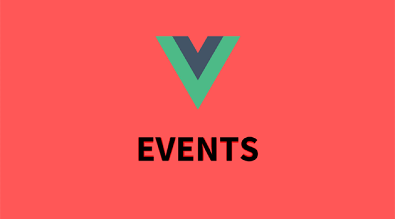 events vue js