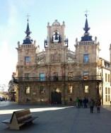 Fachada del Ayuntamiento de Astorga.