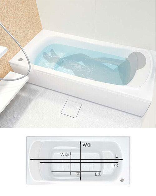 ファーストクラス浴槽 ステップ付き