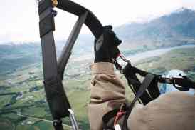 View when Paragliding New Zealand