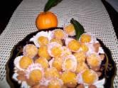 Kuglice sa pomorandžinom korom i bademima