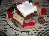 Posna rum torta i posni kolaci