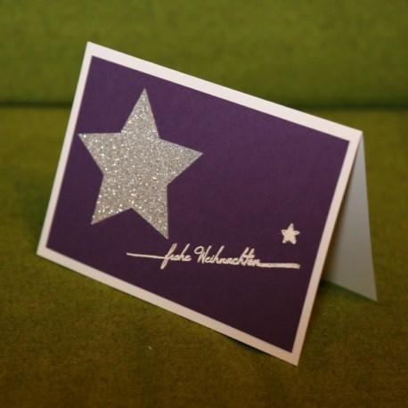 WK mit Stern Violett