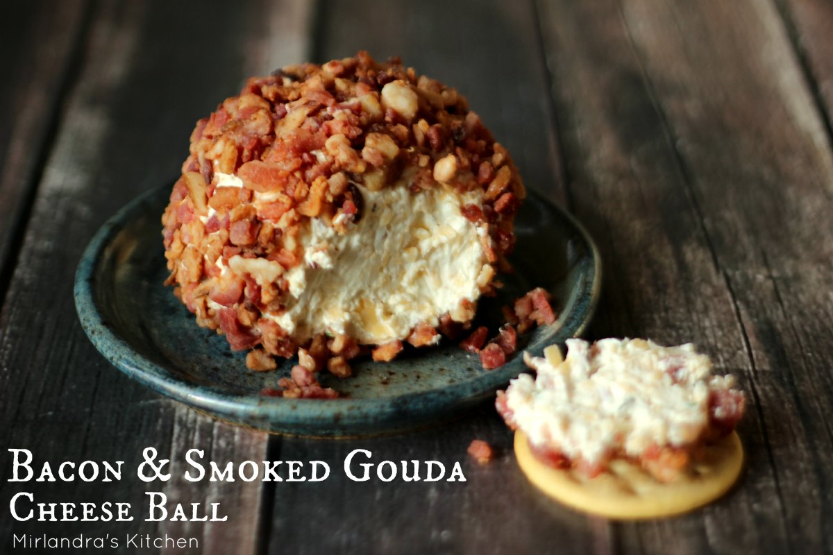 Bacon Amp Smoked Gouda Cheese Ball Nuts Optional
