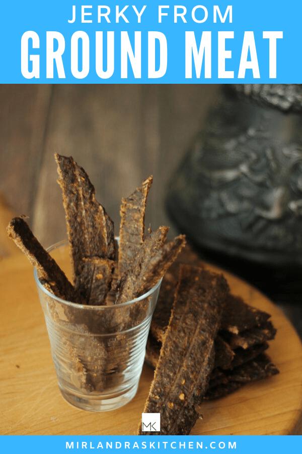 Ground Beef Jerky Recipe Without Gun : ground, jerky, recipe, without, Jerky, Ground, Including, Mirlandra's, Kitchen