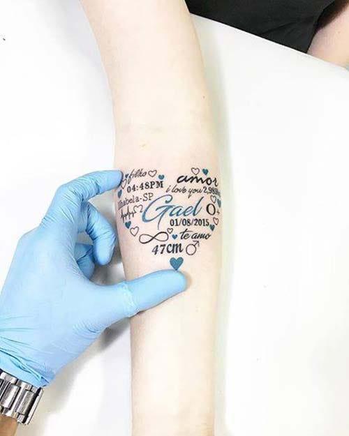 Forearm Name Tattoos : forearm, tattoos, Tattoos, Decision, Easier, Tattolover, Medium