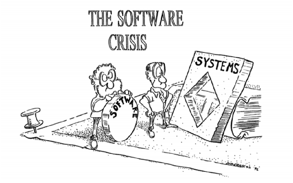 Has the Software Crisis Passed?. In the 1960s, the